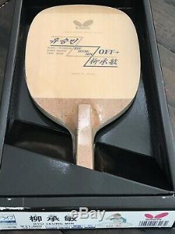 Butterfly Ryu Seung Min Lame De Tennis De Table Rsm Neuve Scellée
