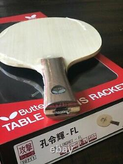 Butterfly Table Tennis Blade Kong Linghui Old Metal Tag G# G Nouveau Fl