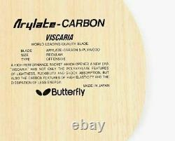 Butterfly Viscaria Fl Blade Tennis De Table, Raquette De Ping-pong, Paddle Made In Japan
