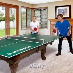 Conversion De Table De Ping-pong De Taille Officielle Pour Une Salle De Jeux Pour Enfants Au-dessus D'une Table De Billard
