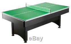 Convertissez Votre Table De Piscine De 7 ', 8' Au Jeu De Ping-pong Pour Tennis De Table Pliable