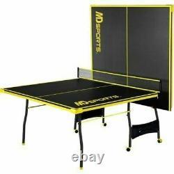 Détails Sur Ping Pong Table Tennis Pliant Taille Énorme Jeu Ensemble Intérieur Extérieur