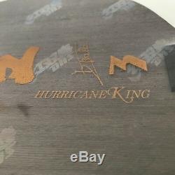 Dhs Hurricane 3 Roi Tennis De Table Lame Pour Racket Paddle 5w + 2gc Off ++