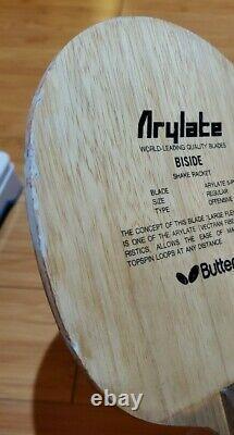 Discontinued Black Tag Bty Biside St Table Tennis Blade/ Racket/ Paddle/ Bat