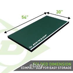 Dunlop 12mm 4 Pièces Table Intérieure Tennis Table De Conversion Top, Pas De Besoin D'assemblage