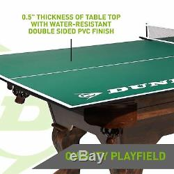 Dunlop Officiel Taille Tennis De Table De Conversion Top 100% Prémonté Extérieur Nouveau