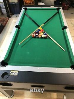 Eastpoint Pivoter Tableau 3 En 1 (ping Pong, Air Hockey Et Piscine)