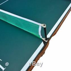 Eastpoint Sports 87 Billard Billard Avec Plateau De Tennis De Table Vert