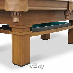 Eastpoint Sports Set De Table De Billard De 87 Pouces Avec Plateau De Tennis De Table, Vert Nouveau