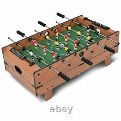 Ensemble De Table Multi-jeux 4-en-1 Avec Air Hockey, Tennis De Table, Billard, Foosball