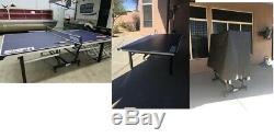 Espn Officiel Taille 18mm 2 Piece Intérieur 9' X5 Tournoi De Tennis De Table Avec Couvercle