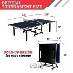 Espn Taille Officielle Table Tennis Table Avec Couverture Pour Simple Ou 2 Joueurs N
