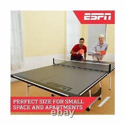 Espn Tt415y19012 Table Pliante Tennis Paddles Balles MID Taille Stury Stecte Nouveau