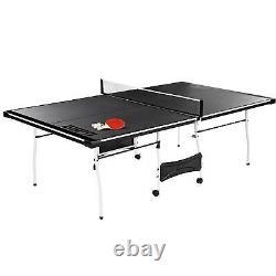 Extérieur Intérieur Officiel De Ping-pong De Tennis De Table De Taille Avec Le Sport De Palette Et De Boules
