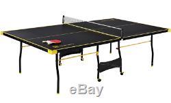Extérieur Ping Pong Table Pliante De Tennis De Table D'intérieur Set Taille Officielle Complète Nouveau
