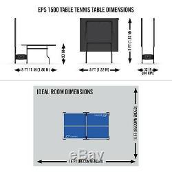 Extérieur Table De Ping-pong Pliante De Tennis De Table D'intérieur Plein Taille Officielle Avec Roues