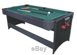 Fat Cat Original Pockey 3-en-1 Air Hockey, Billard, Et Tennis De Table Table De Jeu