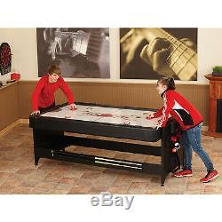Fat Cat Original Pockey 3-in-1 Piscine / Billard Air Hockey Tennis De Table Table De Jeu