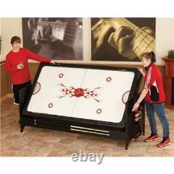 Fat Cat Pockey 3-en-1 Air Hockey, Billards, & Table De Tennis De Table (open Box)