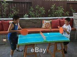 Flottant De Ping-pong Piscine Tennis De Table Mousse Eau Tabletop Jeu De Sport
