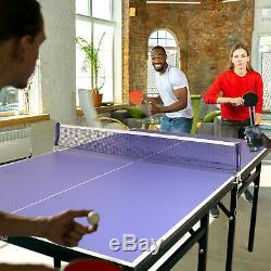 Goldoro De Tennis De Table Extérieur / Table D'intérieur Multiuse Pingpong Facile Joindre