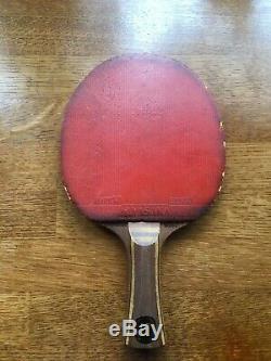 Hans Alser Batte De Tennis De Table Offensive En Bois Rare