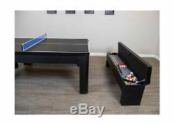 Hathaway Park Avenue 7 Tennis De Table Combinaison Avec Salle À Manger Top, Deux St