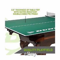 Haut De Conversion De Tennis De Table Taille Officielle Dunlop, 100% Préassemblé, Inclus