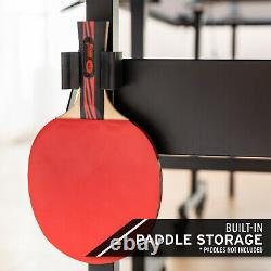 Head 15mm Surface Grand Slam Ping Pong Intérieur Tennis De Table Avec Filet Et Jeu De Poste