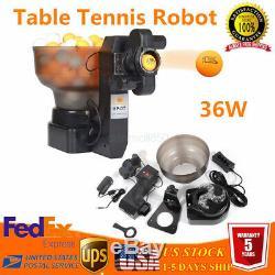 Hp-07 Ping-pong / Tennis De Table Robots Automatique Machine De Boule Pour La Formation Exercis