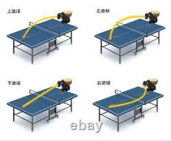 Hp-07 (plusieurs Autres Modèles Disponibles) Ping Pong Table Tennis Robot Ball Machine