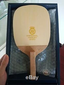 Imperial 2020 Hinoki Plus Foncé (10 Mm) Japonais Penhold Tennis De Table Lame Authentique