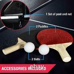 Imperméable À L'eau Pliable Taille Officielle Tennis De Table Ping Pong Accessoires Inclus