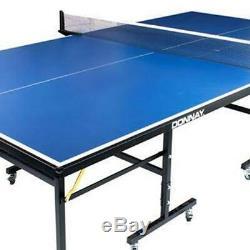 Intérieur Extérieur De Tennis De Table Fixe Avec Raquettes Et Balles Pieds Réglables
