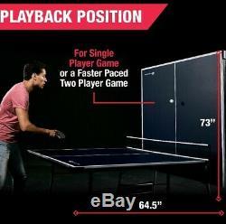 Intérieur Extérieur Tennis De Table De Ping-pong Sport 4 Pièces Taille Officiel Pliables Jeu