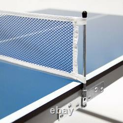 Intérieur Tischtennisplatte Tischtennistisch Tischtennis Set Ping Pong Zubehör
