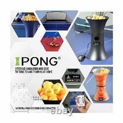 Ipong Table Tennis Entraînement Robot Oscillation Sans Fil Télécommande Réglable Nouveau
