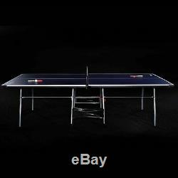 Jeu Intérieur-extérieur MD Sport 4 Piece Tennis De Table De Ping-pong Enfants Fold-up 9'x5