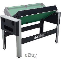 Jeux Combinés Pivotants 4 En 1 Tennis De Table Vol Stationnaire Air Hockey Piscine Bowling Recevoir