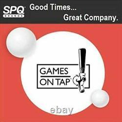 Jeux Sur Le Robinet 8 Pieds De Bière Pong Table, Pliable, Réglable Et Portable Avec 6 Boules