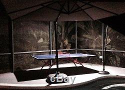 Jolie Table De Ping-pong En Plein Air De Qualité Supérieure Pour Le Tennis De Table 318b, Prise En Charge Ou Expédition