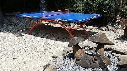 Jolie Table De Ping-pong En Plein Air De Qualité Supérieure Pour Le Tennis De Table 318b, Ramasser Ou Expédier