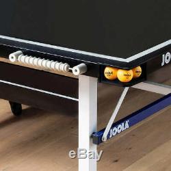 Joola Noctis 19mm Table De Ping-pong Avec Raquettes Et Balles