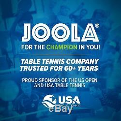 Joola Tetra 4 Pièces De Ping-pong Table Pour Table De Billard Comprend Ping-pong