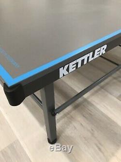 Kettler Outdoor 10 Table De Ping-pong Avec Accessoires