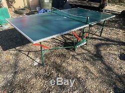 Kettler Pliante Tennis De Table De Ping-pong, Vert, Utilisé Local Ramassage Seulement