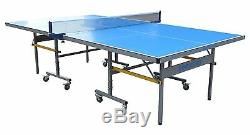 La Table Table Tennis Extérieur Floride / Ping Pong En Bleu Par Berner Billard