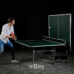 Lancaster 4 Pièces Taille Officiel Intérieur Pliant Tennis De Table De Ping-pong Table De Jeu