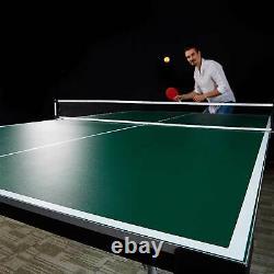 Lancaster 4 Pièces Taille Officielle Table Pliante Tennis Ping Pong Table De Jeu (utilisé)