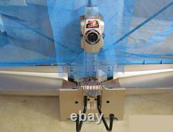Lux. V. Ping Pong Table De Tennis Robot D'entraînement Machine De Capture Net Et Remote 100 Boules